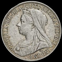 Silver Coins, 925 Silver, Rare British Coins, Coins For Sale, Save The Queen, Queen Victoria, Veil, Money, Classic