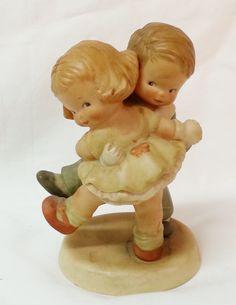Vintage Figurine Memories of Yesterday We's Happy How's Yourself Dancers  #MemoriesofYesterday #Figurine