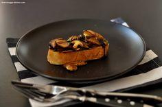 wild mushrooms bruschetta / wald-pilz bruschetta