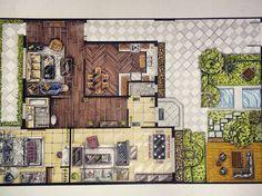 "75 Likes, 12 Comments - Joan IH (@joanih_art) on Instagram: ""#floor_plan #sketch_arq #archi_arts #artistmafia #artwork #interior #interiorwork #interiordesign…"""