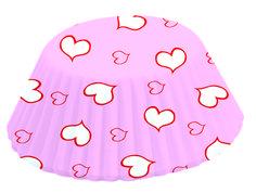 4908 Fox Run Brands Pink Hearts Bake Cup MSRP: $1.99 Valentine's Day Baking