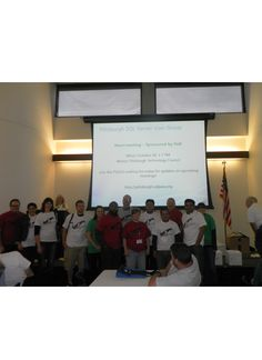 The happy attendees of SQL Saturday Pittsburgh.