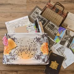 [On the Blog] Vacationing this summer? Take Your Art with You with the Traveler's Art Journaling Kit! Somerset Place, Pastel, Flip, Creative Journal, Top Artists, Creative Activities, Planner Organization, Altered Art, Summer Fun