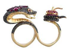 Snake ring by Stephen Webster