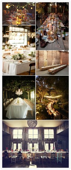 Wedding Trend: Long Tables and Family Style Eating