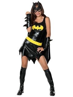 Teen Batgirl Costume! See more #costume ideas for Halloween and more at CostumeSuperCenter.com