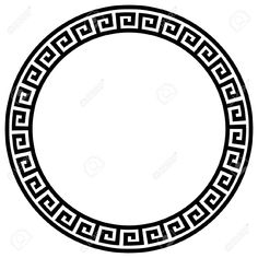 Round Frame With A Meander. Royalty Free Cliparts, Vectors, And Stock Illustration. Image 8351559.
