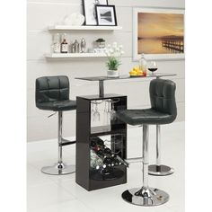 Resemblance of From Classic and Simple to Modern Style of Small Pub Table Set