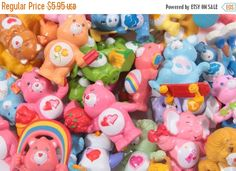 Pick Your Own - Care Bears Vintage Kenner Miniature - HUGE SELECTION - Funshine - Love A Lot - Tenderheart - Baby Hugs  Pink Room  160927 by ThePinkRoom