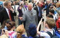 Prince Charles visits Straford