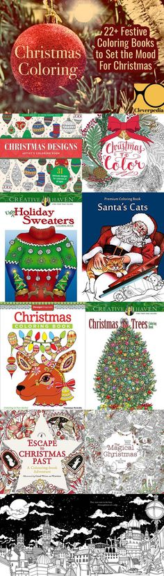 These Christmas coloring books are perfect for ringing in the holiday season. Fight back against holiday stress and enjoy the festive spirit of the season!