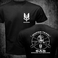 sas special air service british army special forces sniper t shirt mens 100 cotton short