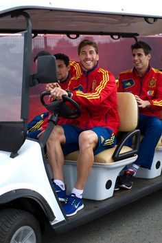 And then he was off again! Thanks to all who joined us on The Ramos Mobile journey.