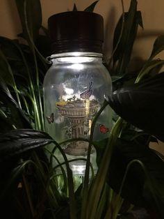 Solar+Light++Solar+Mason+Jar++Mason+Jar+Solar+by+CraftyToucanShop
