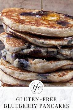 Grain-Free Blueberry Pancakes Recipe | Gluten-Free Pancakes | Gluten-Free Recipe |