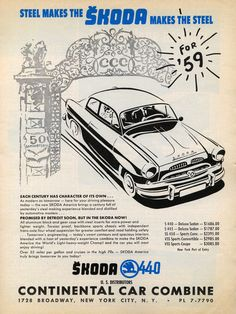 These 29 Car Ads From 60 Years Ago Are Undeniably Cool Vintage Advertisements, Ads, Vintage Logos, Used Car Lots, Import Cars, Car Posters, Car Advertising, Old Signs, Vintage Travel Posters