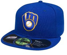 Milwaukee Brewers Fitted Hat