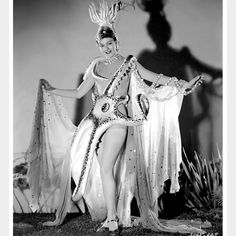 "burleskateer: ""Lorraine Gettman Vintage publicity still features Ms. Gettman in the silken Octopus costume would wear in the 1941 M-G-M film: ""ZIEGFELD GIRL"". She was one of 12 showgirls chosen to. Octopus Costume, Ziegfeld Girls, Ziegfeld Follies, Vintage Burlesque, New York Girls, Josephine Baker, Burlesque Costumes, Showgirls, Ms Gs"