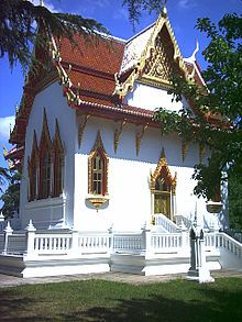 Wat Buddhapadipa - Wimbledon, England, first Buddhist temple in England