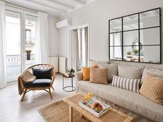 La reforma 10: Un piso con espacios diáfanos y luminosos