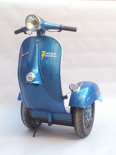 vespa segway, Made in Italy?