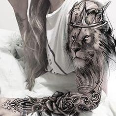 Hd Tattoos, Full Leg Tattoos, King Tattoos, Chicano Tattoos, Skull Tattoos, Animal Tattoos, Body Art Tattoos, Thigh Tattoo Designs, Maori Tattoo Designs