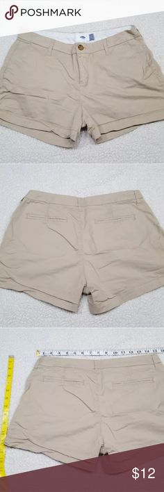 OLD NAVY shorts size 4 OLD NAVY shorts size 4  Please be sure to look at measurements before purchasing(: Old Navy Shorts