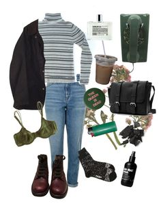 """""""9. Jade"""" by thatssokalea ❤ liked on Polyvore featuring Topshop, Barbour, Issey Miyake, Chanel, Comme des Garçons, WALL and Cosabella"""