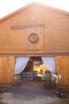 Barn For Wedding | I would want my reception in a huge (but very clean) barn.