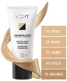 Vichy dermablend foundation - ultimate coverage yet looks like tinted moisturiser when on & lasts 12 hours