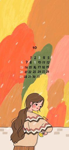 그림그리는방 2019년 10월 배경화면 공유/아이폰배경화면/부산취미미술 : 네이버 블로그 Lisa Simpson, Cute Art, Illustrations, Wallpaper, Mini, Movie Posters, Fictional Characters, Ideas, Art