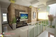 Modelagem 3D - Sala de estar