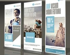 Modern and clean design for banner/rollup. Perfect for PR agency or other business promotion. All elements are editableFEATURESAdobe InDesign and mm inches) + bleeds 25 mmReady for print DPI CMYK)Organized Layer& Creative Brochure, Corporate Brochure, Business Brochure, Corporate Design, Rollup Design, Rollup Banner Design, Elegant Business Cards, Cool Business Cards, Tradeshow Banner Design