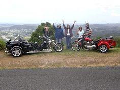 WOW!! a  4hr  Hinterland Tour with                FREEDOM WHEELS      (Harley-Davidson Bike & Trike Tours Sunshine Coast Q.L.D. AUSTRALIA)  www.freedomwheels.com.au