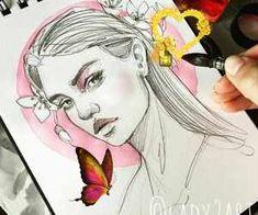 Follow Sauerbruchh on WHI for more! on We Heart It 1000+ imágenes sobre 🍃 Draws ✨ en We Heart It | Ver más sobre art, drawing y draw<br>