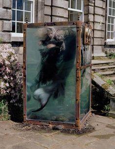 under the sea Tim Walker The Little Mermaid sea punk mermaids Kristen McMenamy bloodshot eyes