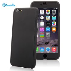 Tmalltide Case For iPhone 6 Plus Case Cover Shockproof + Tempered Glass Screen Protector Film For iPhone 6 6S Plus Cases Cover