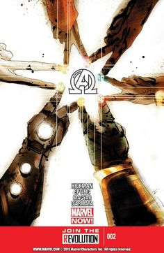 New Avengers Vol. 3 #2 		 		The Illuminati gather to plan for the death of everything. Infinity gems, old wounds, lies, agendas and universal incursions are all on the agenda!