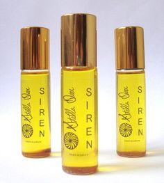 Siren Botanical Perfume / Natural & Organic / RollOn by StellaDeer, $29.95