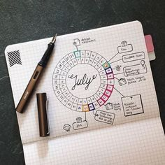 Looking for Bujo inspiration? Check out 8 awesome monthlies for your bullet journal!