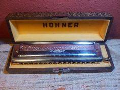 Armónica para coleccionistas, De M. Hohner, Germany, The 64 Chromonica, 1956 - Foto 1