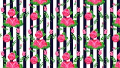 How to Create a Stripes and Flowers Pattern From Scratch in Adobe Illustrator