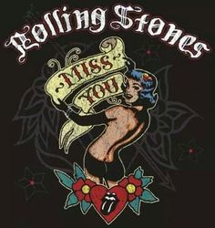 rolling stones miss you Rolling Stones Album Covers, Rolling Stones Tour, Like A Rolling Stone, Pop Posters, Concert Posters, Rock And Roll Bands, Rock N Roll, Rolling Stones Tattoo, Cool Neon Signs