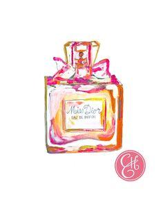 Miss Dior Perfume Print