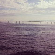 A beleza de um horizonte ao pensamento longínquo da vida