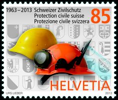Swiss special stamp: 50 years Protection and support service switzerland : www.postshop.ch/philatelie