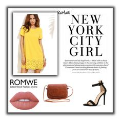 """""""ROMWE #10#"""" by besirovic ❤ liked on Polyvore featuring Lime Crime"""
