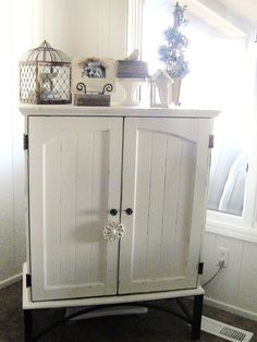 Painted with Homemade chalk paint