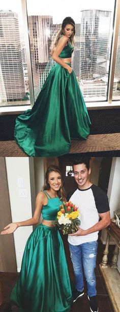 Long Prom Dresses,Cheap Prom Dress,Party Dresses,Prom Gowns,Gowns Prom,Evening Dresses,Cheap Prom Dresses,Dresses for Girls,Prom Dress UK,Prom Suit,Prom Dress Brand,Prom Dress Store,Gorgeous A-line Two Pieces Green Prom Dresses,Sexy Evening Gowns,Party Dresses for Girls, M36