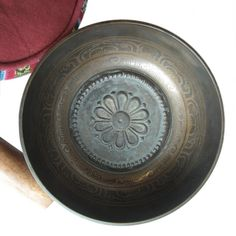 Lotus singing bowl. Now available in our online store: http://shop.wildmind.org/product.php?productid=524=62=1